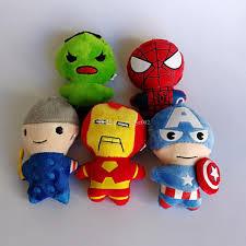 Avengers 5 Juguetes De Peluche Spiderman Hulk Captain America Iron Thor Set  Muñeca Suave Man Juguetes Juguetes de cine y TV