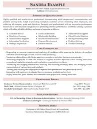 29 Best Of Summary Of Qualifications Sample Resume For Customer
