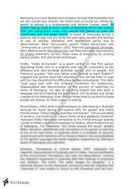 belonging to a family essay examples dissertation methodology  belonging essay essay examples sample essays
