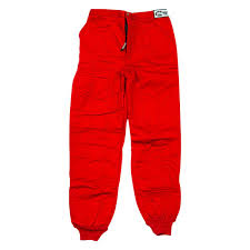 G Force 4386lrgrd Gf505 Series Racing Pants L Size Red