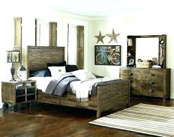 rustic white bedroom set distressed painted bedroom furniture
