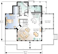 Four-Season Vacation Home Plan - 2177DR | Architectural Designs ...