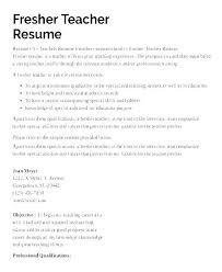 Teacher Curriculum Vitae Simple Sample Resume For Special Education Teacher Dewdrops