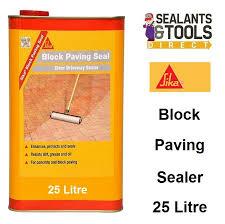 Sika Block Paving Sealer 25 Litre