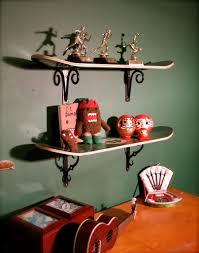 Skateboard Bedroom Decor Surprising Skateboard Shelves Diy Photo Inspiration Tikspor