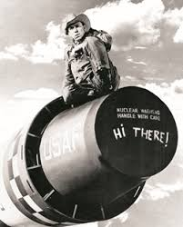 the big bang theory slim pickens in one of the three or four most famous images in american movies credits photofest