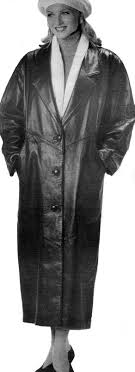 back then my experience around women wearing leather coats was limited almost entirely to these brief public encounters one notable exception was when my