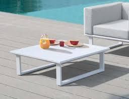 vivara outdoor square coffee table matt
