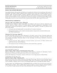 Resume Example Best Librarian Resume Sample Librarian Resume