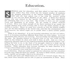 essay on education co essay on education