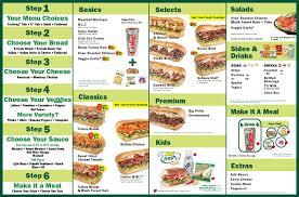subway menu prices. Exellent Subway Subway Menu To Prices