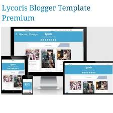 Newspaper App Template Lycoris Responsive Blogger Template This Is Best Of Choice To