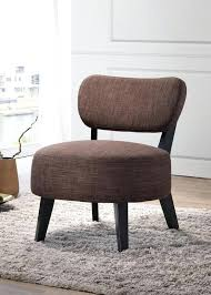 accent chairs pilaster designs oversized accent chair brown black upholstered fabric armless oversized accent chair with