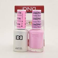 Dnd Gel Nail Polish Color Chart 2019 Dnd Gel Matching Polish Set 536 Creamy Macaroon Buy 5 Any Colors Get 1 Diamond Super Fast Drying Top Coat 0 5 Oz Free