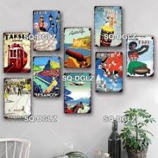 Collection by gp s • last updated 6 weeks ago. Sq Dglz Cuba City Metal Sign Vintage Plaque Wall Decor For Pub Bar Country Plate Tin Sign Travel India Chile Poster Hot Offer 92b7 Cicig
