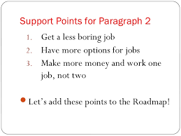 the essay roadmap 17