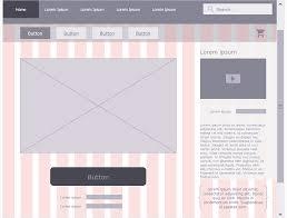 Website Design Diagram Website Wireframe How To Develop Website Wireframes How