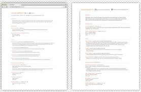 Create A Simple Resumes 25 Free Html Resume Templates For Your Successful Online Job