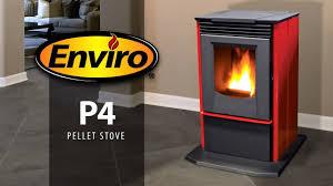 p4 freestanding pellet stove burn example enviro fireplaces