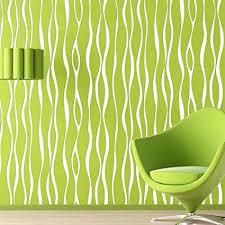 wallpaper pattern modern green. Delighful Green GAOJIAN Modern Vertical Striped Wave Pattern Wallpaper Green Living Room  Bedroom NonWoven Background Wall To R