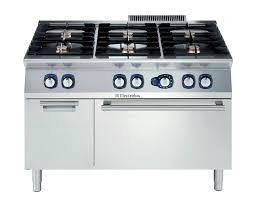 commercial gas range. Gas Range Cooker / Commercial - 6 BURNER 700XP S