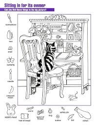 These free, printable puzzles feature scenes with pigs, tree houses, dinosaurs, bears, deer, inventors, chicks, kittens, boats, and more. Marvelous Free Hidden Picture Worksheets Picture Inspirations Jaimie Bleck