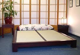 japanese bed frame. Japanese Bed Frame Designs Tatami