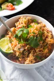 quick and easy restaurant style mexican rice girl and the kitchen