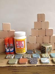 DIY Wood Baby Blocks // Baby Boy // Hipster Baby // Little Man // Baby  Shower Craft // Childrens Blocks // Natural Wood Toy