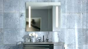led medicine cabinet lighted bathroom incredible cabinets mirror designs recessed o1