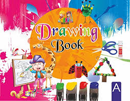 drawing book a for nursery