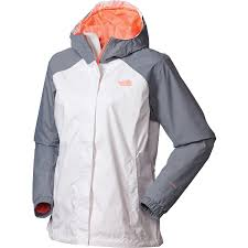 the north face stinson rain jacket womens tnf white neon peach jackets vests