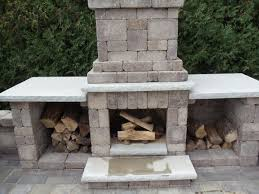 concrete block outdoor fireplace design pictures to pin on
