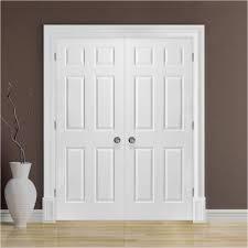 Prehung Interior Closet Doors Masonite 48 In X 80 In Textured 6 ...