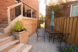 small decks patios small. Small Yard Cedar Deck And Glass6 Decks Patios