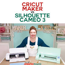 Silhouette Machine Comparison Chart Cricut Maker Vs Silhouette Cameo Whats Different Whats