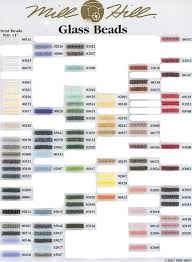 Mill Hill Beads Color Chart Mill Hill Beads Shade Chart