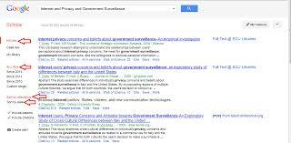 Finding Articles On Google Scholar Google Scholar