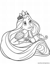 Small Picture colouring sheets disney princess tangled rapunzel printable free