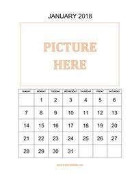 january 2018 calendar free free download printable january 2018 calendar large font design