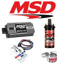 msd 6al parts accessories msd 99513 black ignition kit 6425 digital 6al box blaster 2 coil coil