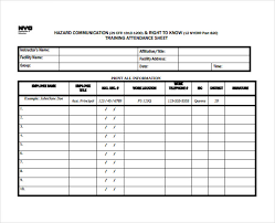 Employee Attendance Sheet In Excel For Office Sample Employee Attendance Sheet Rome Fontanacountryinn Com