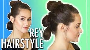 Rey Hair Style reys triple buns the force awakens star wars hairstyle tutorial 4673 by stevesalt.us