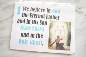 Flip Chart Articles Of Faith
