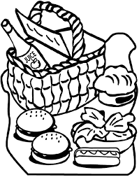 Small Picture Trend Picnic Coloring Pages 74 On Coloring Pages for Kids Online
