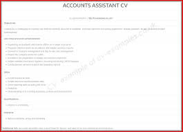 Lovely Accounts Assistant Cv Uk Mailing Format