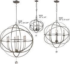 crystorama 9225 9226 9228 solaris orb chandelier