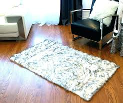 good faux sheepskin rug gray fur amazing for rugs clearance soft area gy 8x10