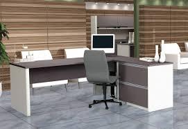 Office Desk : Reception Desk Glass Desk Ergonomic Computer Desk ...