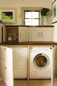 Under counter washer dryer Stunning Went With The Same Marble For Both The Backsplash And Counter And Had The Countertop Edges Finished With 2u2033 Thick Square Eased Edge Sher She Goes Nyc Living How We Installed Washer Dryer In The Kitchen